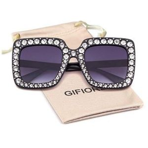 Sunglasses For Women Square Sunglasses Bling